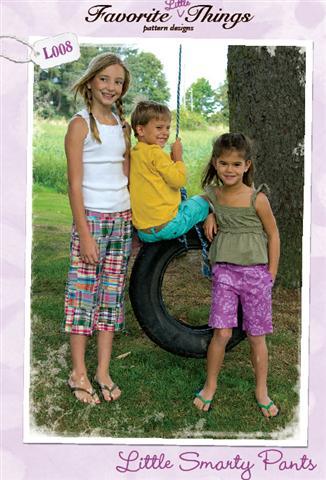 Favorite Things Little Smartie Pants Pattern