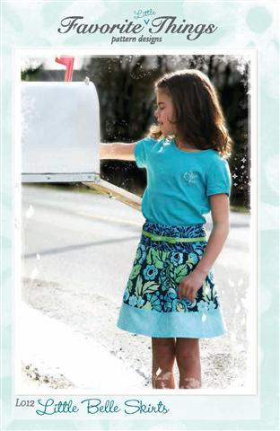Favorite Things Little Belle Skirts Pattern