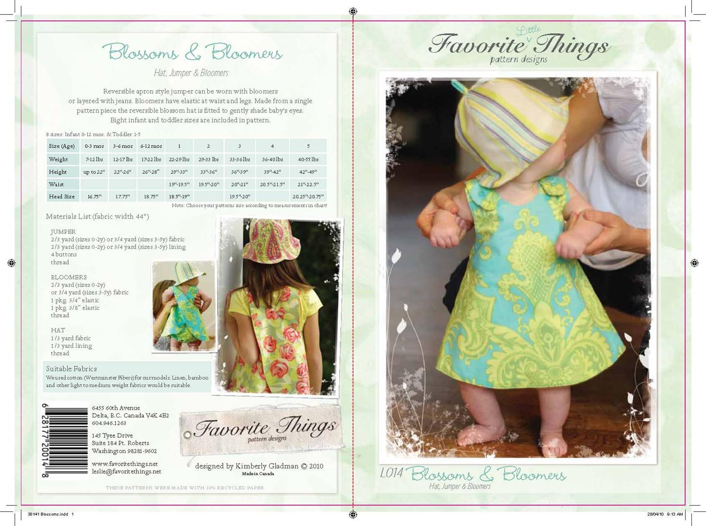 Favorite Things Blossoms & Bloomers L014