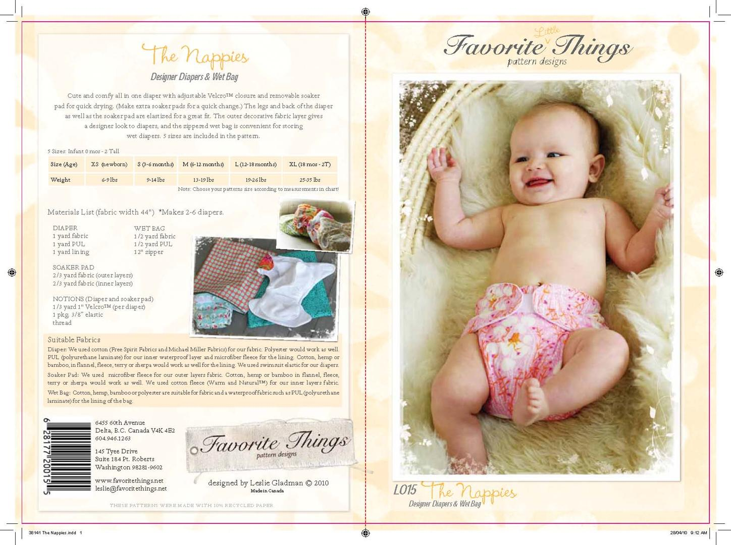 Favorite Things The Nappies L015