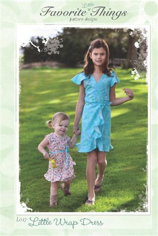 Favorite Things Little Wrap Dress Pattern
