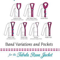 Fit For Art Band Variations and Pockets for the Tabula Rasa Jacket