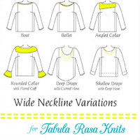 Fit For Art Wide Neckline Variations Package for Tee & tunic