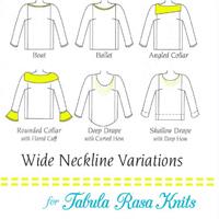 Wide Neckline Variations