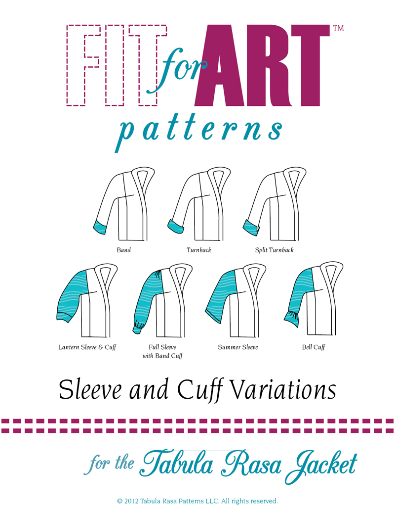 Fit For Art Sleeve & Cuff Variations Sleeve & Cuff Variations