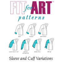 Fit For Art Sleeve & Cuff Variations for Tabula Rasa Jacket Pattern