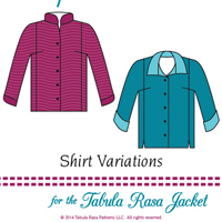 Fit For Art Shirt Variations for the Tabula Rasa Jacket
