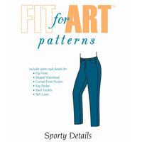 Fit For Art Sporty Details Expansion Pattern