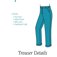 Fit For Art Trouser Details for Eureka Pants