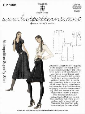 HotPatterns Metropolitan Superfly Skirt 1001