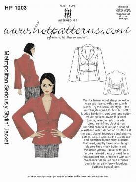 HotPatterns Metropolitan Seriously Stylin� Jacket 1003