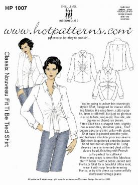 HotPatterns Classix Nouveau Fit to be tied 1007
