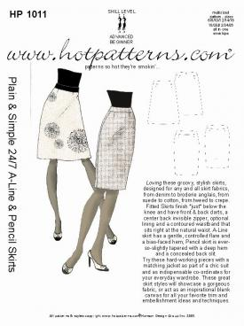HotPatterns Plain and Simple 24/7 A-line and Pencil Skirts 1011