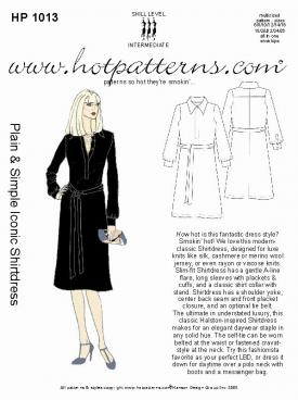 HotPatterns Plain and Simple Ionic Shirtdress 1013