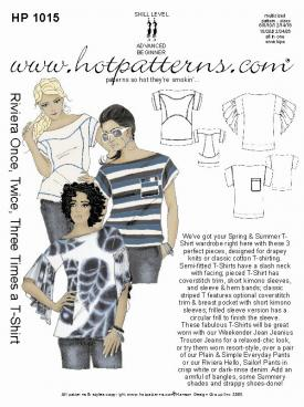 HotPatterns Riviera Once, Twice, Three Times a T-shirt 1015