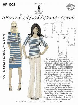 HotPatterns Riviera Annisette Dress and Top 1021