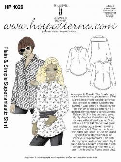 HotPatterns Plain and Simple Superfantastic Shirt 1029