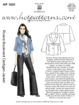 HotPatterns Riviera Boulevard Cardigan-Jacket 1031