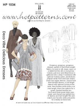 HotPatterns Deco Vibe Delicious Dresses 1034
