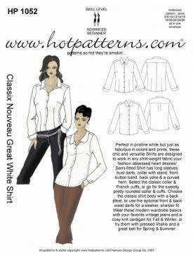HotPatterns Classix Nouveau Great White Shirt 1052