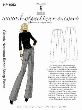 HotPatterns Classix Nouveau Razor Sharp Pants 1053