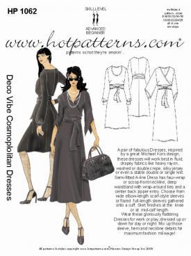HotPatterns Deco Vibe Cosmopolitan Dresses 1062