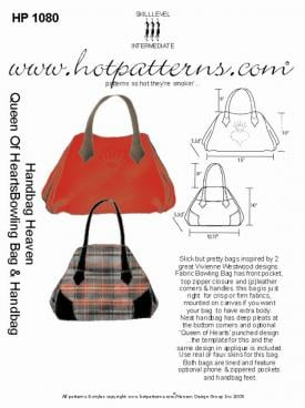 HotPatterns Handbag Heaven Queen of Hearts Bowling Bag and Handbag 1080