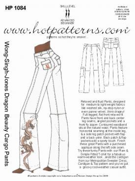 HotPatterns WSJ Dragon Beauty Cargo Pants 1084