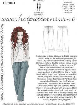 HotPatterns Wong-Singh-Jones Marrakesh Drawstring Pants 1091