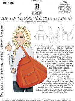 HotPatterns Classix Nouveau Pyramid Bag 1092