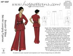HotPatterns Boudoir Of Bliss Bel-Air Lounging Pyjamas 1097