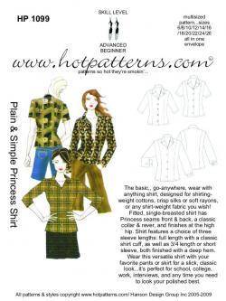 HotPatterns Plain & Simple Princess Shirt 1099