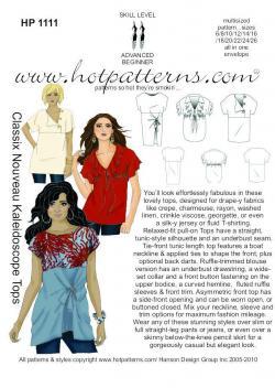 HotPatterns Classix Nouveau Kaleidoscope Tops 1111