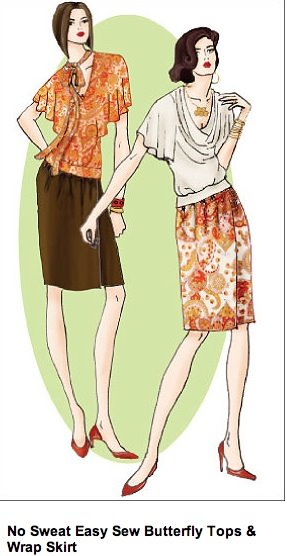 HotPatterns Butterfly Top HP-104