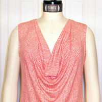 In-House Cool Cowl Tank Digital Pattern