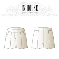 In-House Claire Shorts Digital Pattern
