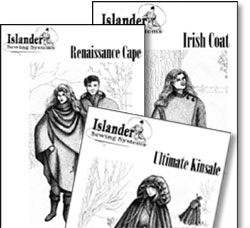 Islander Sewing Systems Three Pattern Collection Pattern