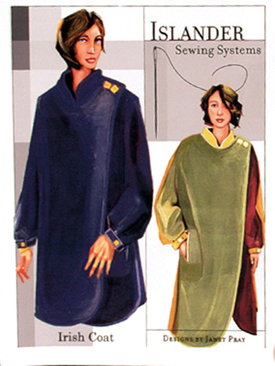 Islander Sewing Systems Irish Coat Pattern 207