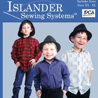 Islander Sewing Systems Youth Easy Shirt Paper Pattern