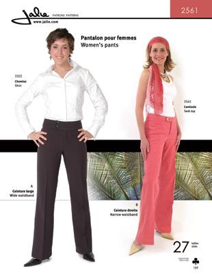 Jalie Women's Pants 2561