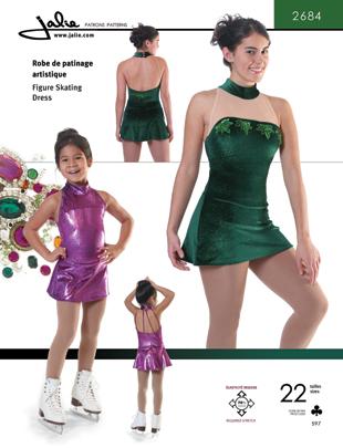 Jalie Figure skating dress (4 straps) 2684