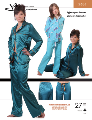 Jalie Women's pajama set 2686