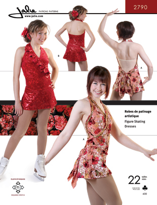 Jalie Figure Skating Dress 2790