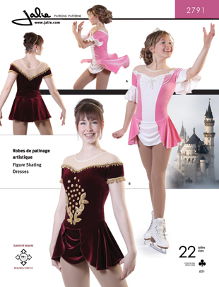 Jalie Figure Skating Dress 2791