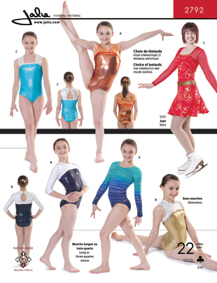 Jalie Gymnastics Leotards 2792