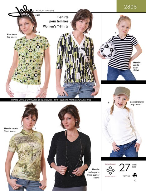 Jalie Women's t-shirts 2805