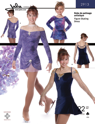 Jalie Figure Skating Dress 2913