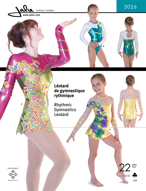 Jalie Rhythmic Gymnastics / Twirling Leotard 3026