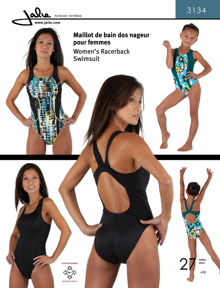 Jalie Women's Racerback Swimsuit 3134