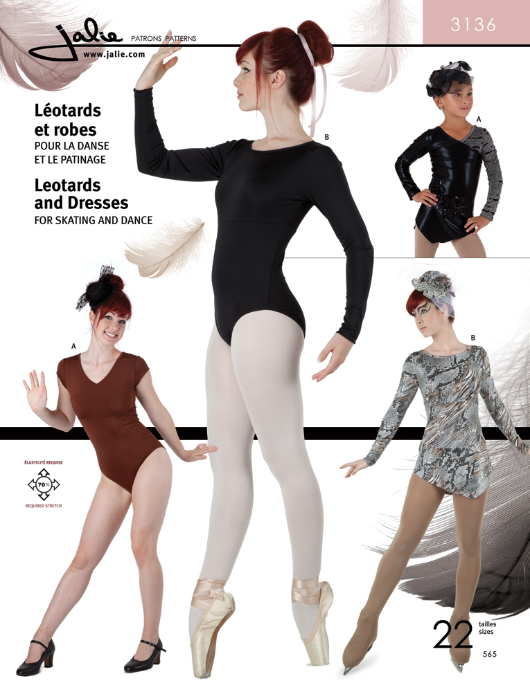 Jalie Leotards and Dresses 3136